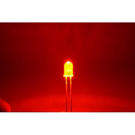 светодиод 5мм, красный