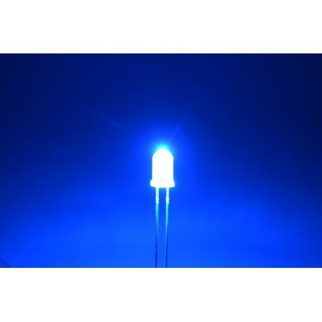 светодиод 5мм, синий