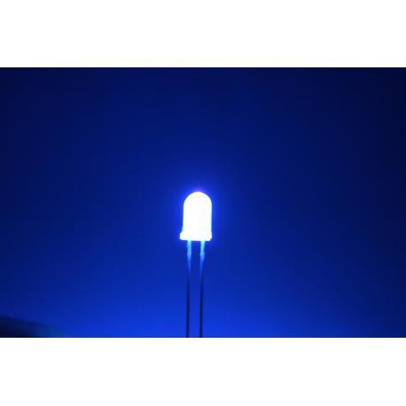 светодиод 5мм, 400нм, фиолетовый
