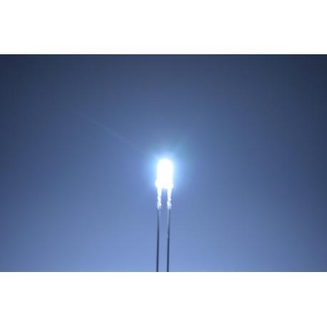 светодиод 3мм, белый