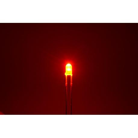 светодиод 3мм, красный