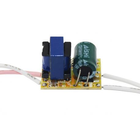 1x3W светодиодный драйвер 600мА
