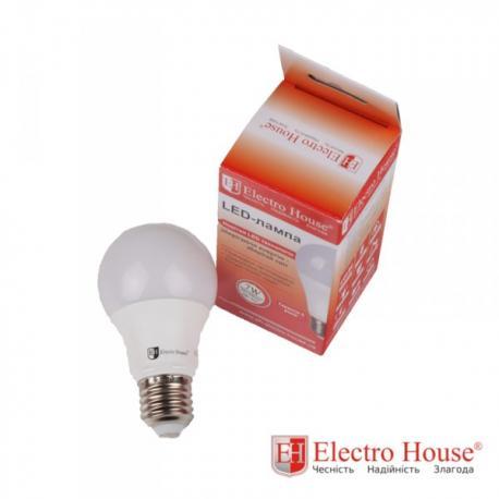 Светодиодная лампа 9W Е27, для дома