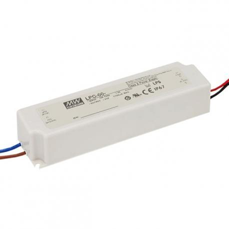 LPC-60-1400. Драйвер 60Вт, 1400mA, 9-42V