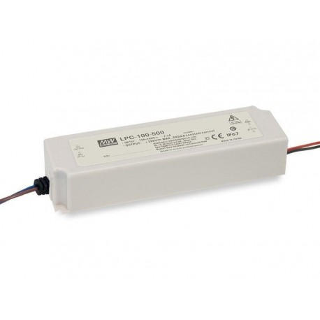 LPC-100-1400. LED Driver 100W, 1400mA, 36-72V