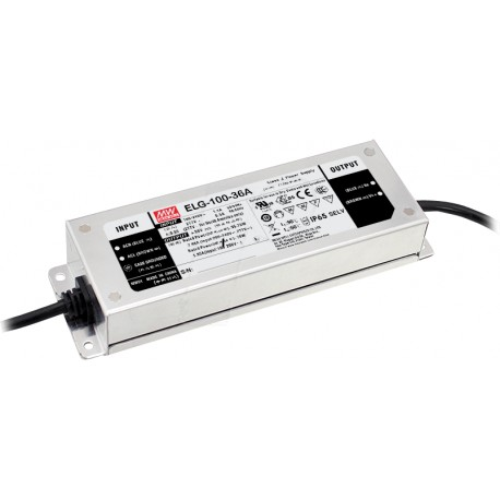 ELG-100-C1400B-3Y. Драйвер 100Вт, 1400mA, 35-72V