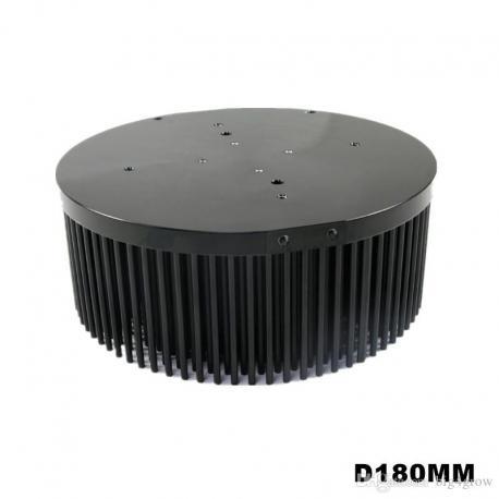 Pin heatsink 180mm for COB 100W
