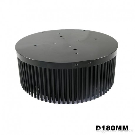 Pin heatsink 180mm for COB 100W
