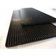 Ребристый радиатор 326х194х10мм для Quantum Board 288