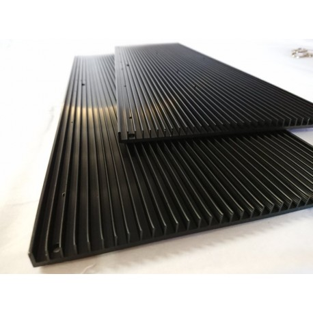 Heatsink 326x194x10mm for Quantum Board 288. Pre-drilled