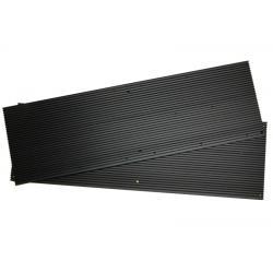 Ребристий радіатор 634х194х10мм для 2x Quantum Board 288